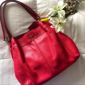 RARE - Pebbled Leather Lexy Shoulder Bag Handbag